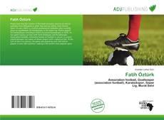 Bookcover of Fatih Öztürk