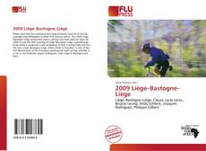 Bookcover of 2009 Liège–Bastogne–Liège