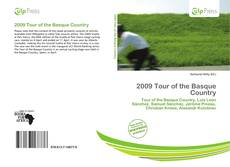 Bookcover of 2009 Tour of the Basque Country
