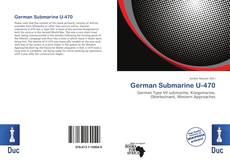 Capa do livro de German Submarine U-470