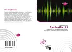 Bookcover of Dusolina Giannini