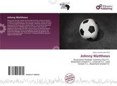 Bookcover of Johnny Matthews