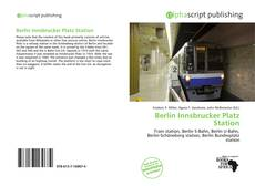 Copertina di Berlin Innsbrucker Platz Station
