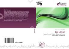 Bookcover of Lac Léman
