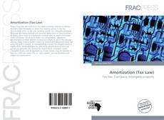 Capa do livro de Amortization (Tax Law)