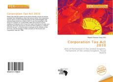 Capa do livro de Corporation Tax Act 2010