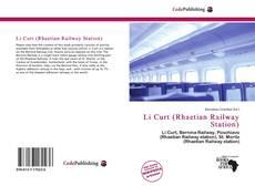Capa do livro de Li Curt (Rhaetian Railway Station)