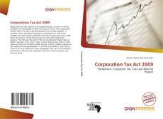 Capa do livro de Corporation Tax Act 2009