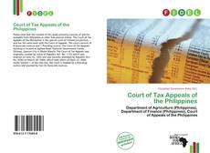 Capa do livro de Court of Tax Appeals of the Philippines