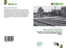 Capa do livro de Morayshire Railway