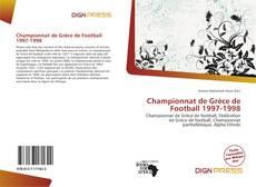 Buchcover von Championnat de Grèce de Football 1997-1998