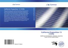 Couverture de California Proposition 13 (1978)