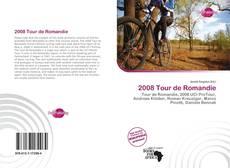 Bookcover of 2008 Tour de Romandie