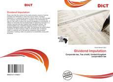 Dividend Imputation的封面