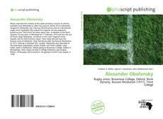 Bookcover of Alexander Obolensky