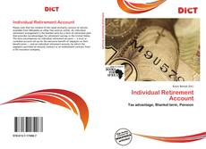 Capa do livro de Individual Retirement Account