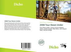 Обложка 2008 Tour Down Under