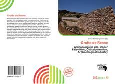 Grotte de Renne的封面