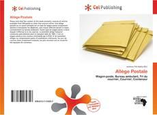 Bookcover of Allège Postale