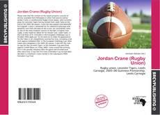 Copertina di Jordan Crane (Rugby Union)