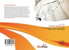 Bookcover of Ferme Générale
