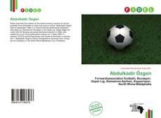 Bookcover of Abdulkadir Özgen
