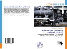 Bookcover of Haldenstein (Rhaetian Railway Station)