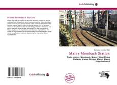 Mainz-Mombach Station的封面