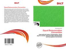 Couverture de Equal Remuneration Convention