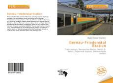 Bookcover of Bernau-Friedenstal Station