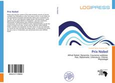 Capa do livro de Prix Nobel