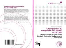 Bookcover of Championnat du Danemark de Football 1955-1956