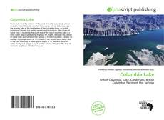 Bookcover of Columbia Lake