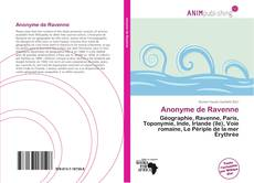 Bookcover of Anonyme de Ravenne