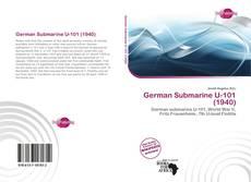 Portada del libro de German Submarine U-101 (1940)