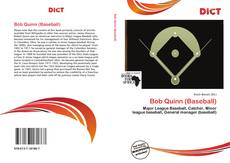 Bookcover of Bob Quinn (Baseball)