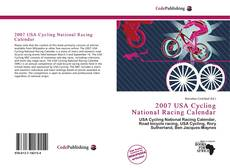 2007 USA Cycling National Racing Calendar kitap kapağı