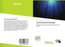 Bookcover of Constructive Receipt