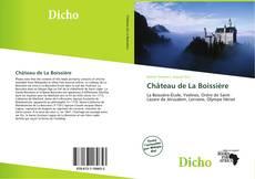 Château de La Boissière kitap kapağı