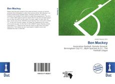 Обложка Ben Mackey