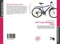 Copertina di 2007 Liège–Bastogne–Liège