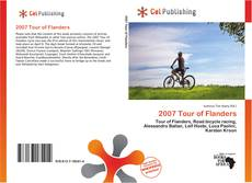 Portada del libro de 2007 Tour of Flanders