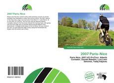 2007 Paris–Nice kitap kapağı