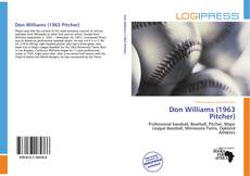 Couverture de Don Williams (1963 Pitcher)