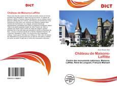 Couverture de Château de Maisons-Laffitte