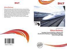 Обложка Alloa Railway