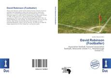 Capa do livro de David Robinson (Footballer)