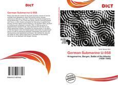 Buchcover von German Submarine U-958