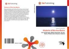 Обложка Histoire d'Aix-les-Bains