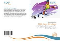 Portada del libro de 2006 Gent–Wevelgem